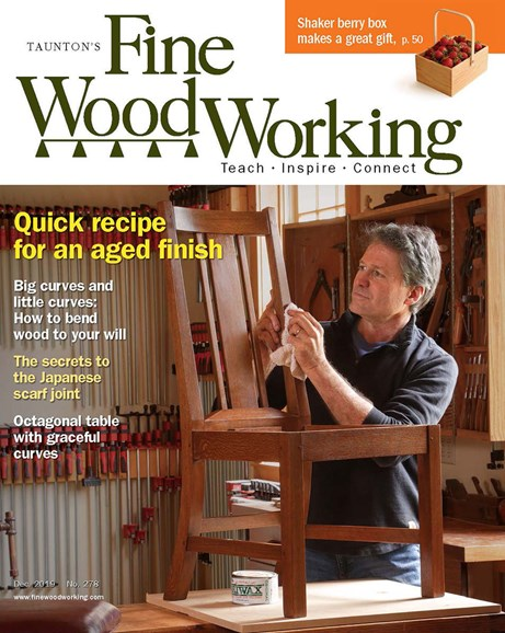 Fine Woodworking Cover - 12/1/2019