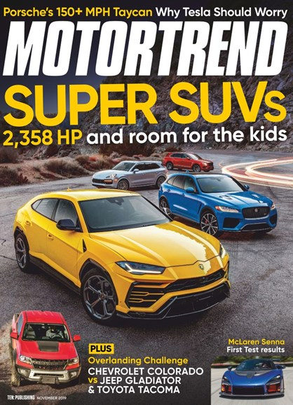 Motor Trend Cover - 11/1/2019