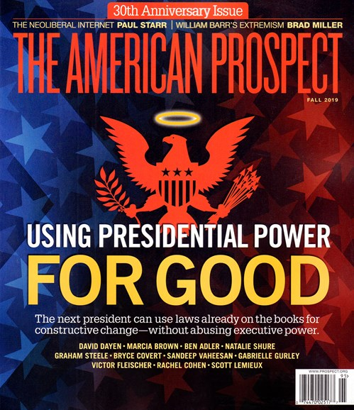 The American Prospect Cover - 9/1/2019