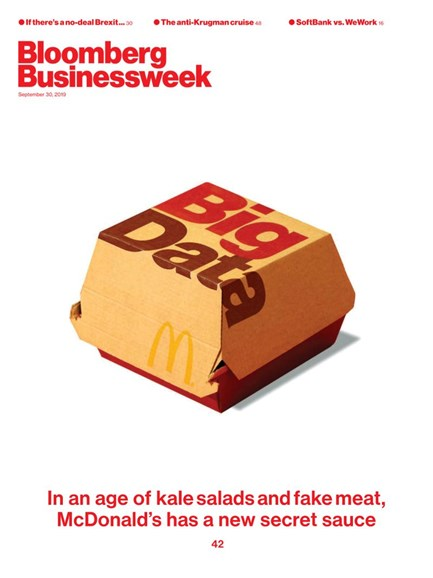 Bloomberg Businessweek Cover - 9/30/2019