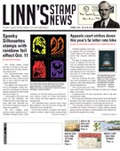 Linn's Stamp News Magazine 10/7/2019