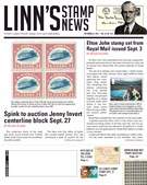 Linn's Stamp News Magazine 9/23/2019