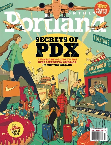 Portland Monthly Cover - 10/1/2019