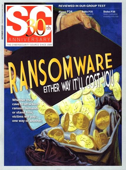 SC Magazine - U.S. edition Cover - 10/1/2019