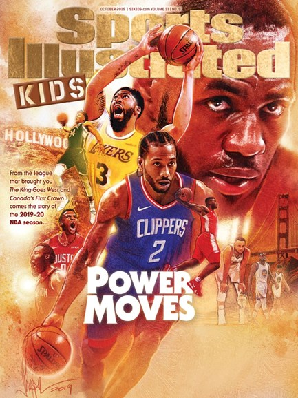 Sports Illustrated Kids Cover - 10/1/2019