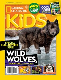 National Geographic Kids Magazine | 10/2019 Cover