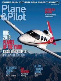 Plane & Pilot Magazine   11/2019 Cover
