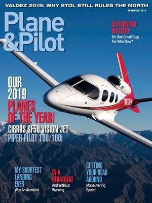 Plane & Pilot Magazine | 11/2019 Cover