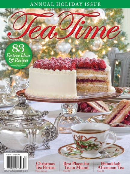 Tea Time Cover - 11/1/2019