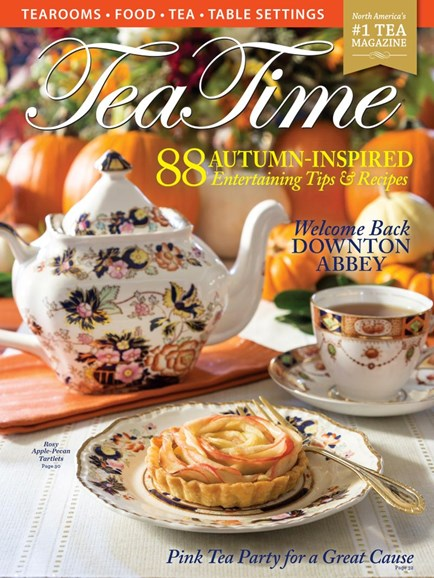 Tea Time Cover - 9/1/2019