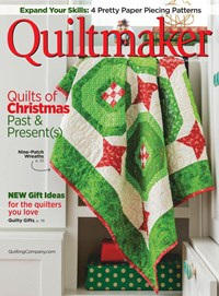 Quiltmaker Magazine   11/2019 Cover