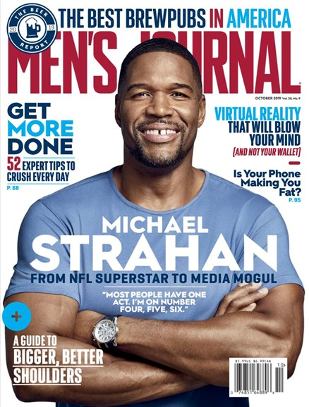 Men's Journal Cover - 10/1/2019