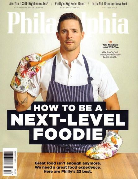 Philadelphia Magazine Cover - 10/1/2019