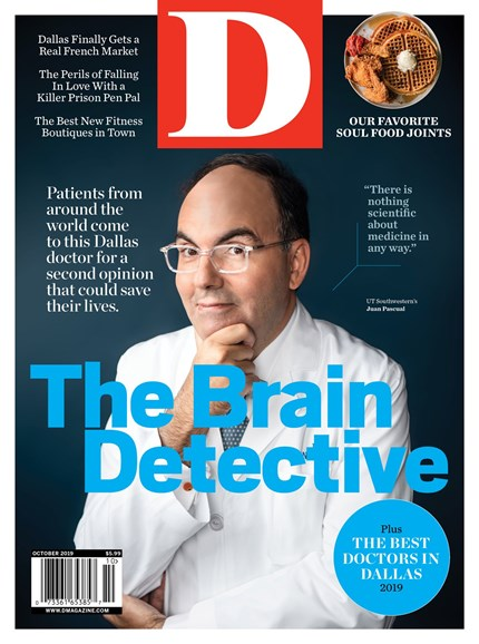 D Magazine Cover - 10/1/2019