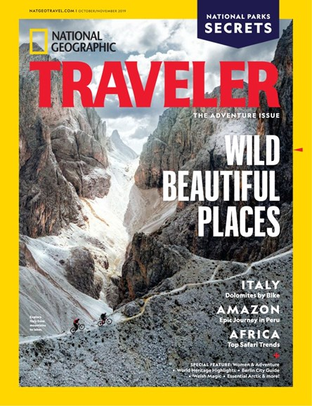 National Geographic Traveler Cover - 10/1/2019