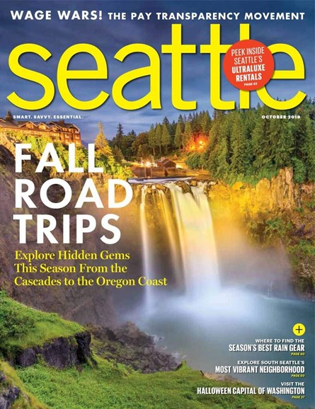Seattle Magazine Cover - 10/1/2019