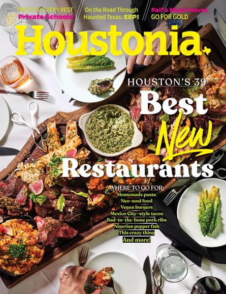 Houstonia Cover - 10/1/2019