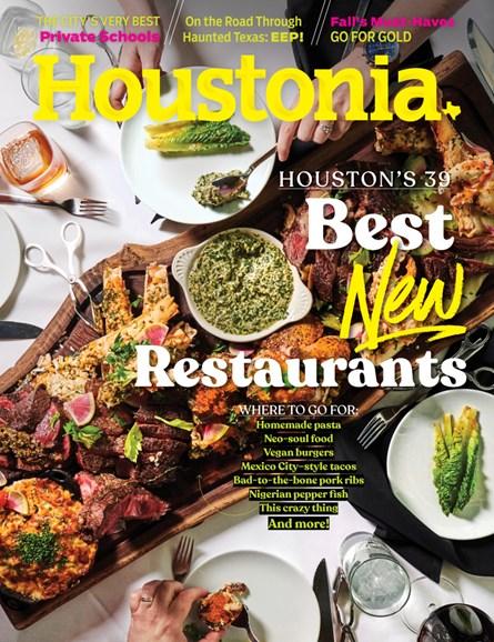 Houstonia Cover - 10/1/2019