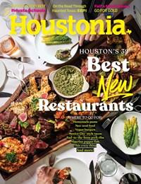 Houstonia Magazine | 10/2019 Cover