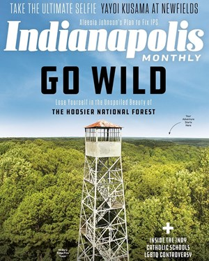 Indianapolis Monthly Magazine | 10/2019 Cover