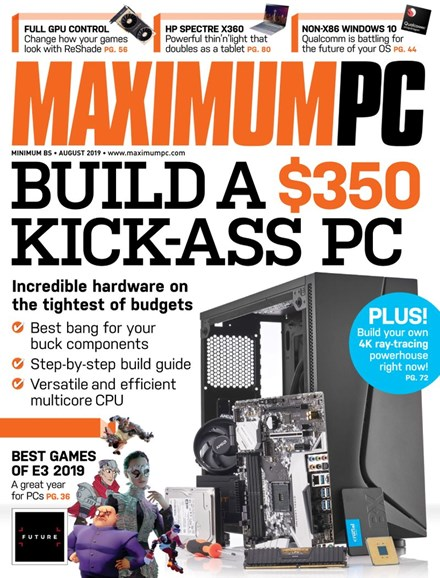 Maximum PC Cover - 8/1/2019