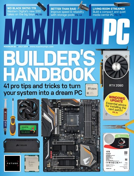 Maximum PC Cover - 7/1/2019