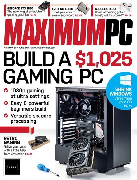 Maximum PC Cover - 6/1/2019
