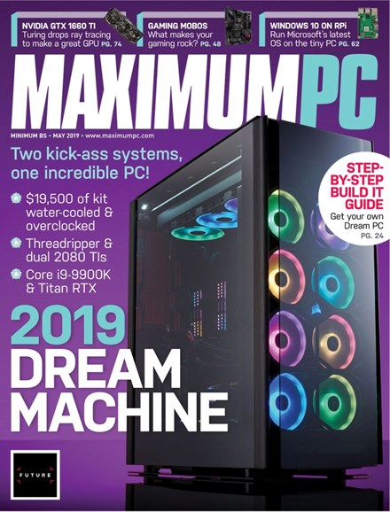 Maximum PC Cover - 5/1/2019