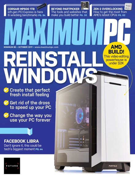 Maximum PC Cover - 10/1/2019