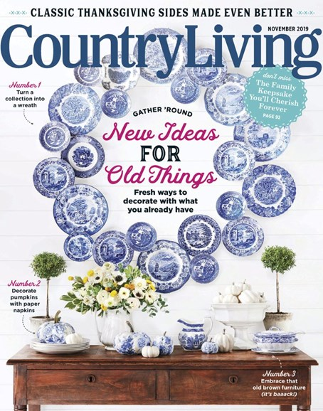 Country Living Cover - 11/1/2019