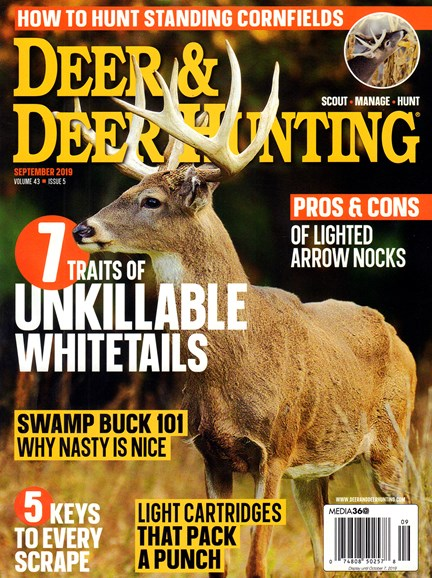 Deer & Deer Hunting Cover - 9/1/2019
