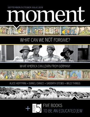 Moment Magazine | 9/2019 Cover