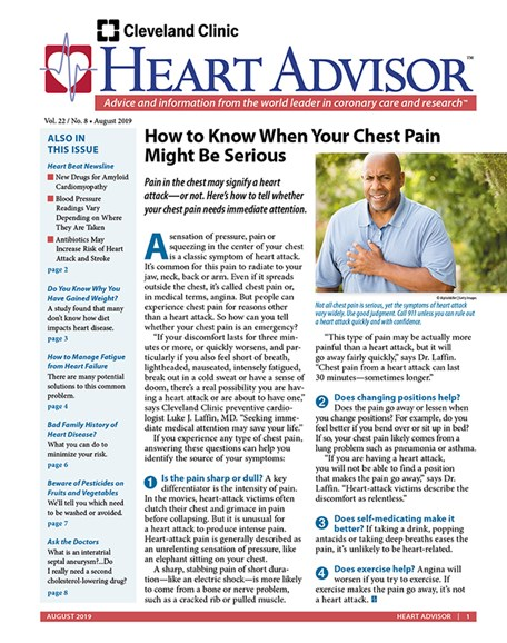 Heart Advisor Cover - 8/1/2019