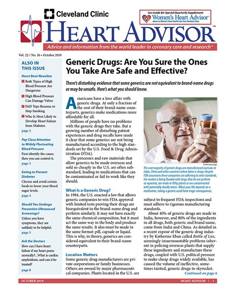 Heart Advisor Cover - 10/1/2019