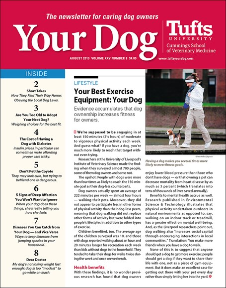 Your Dog Cover - 8/1/2019