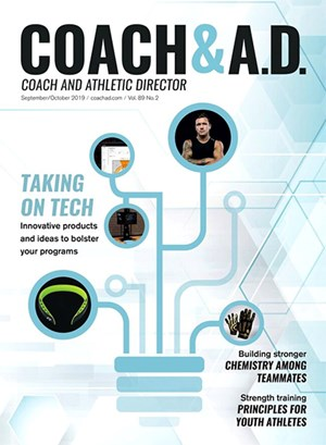 Coach and Athletic Director Magazine | 9/2019 Cover