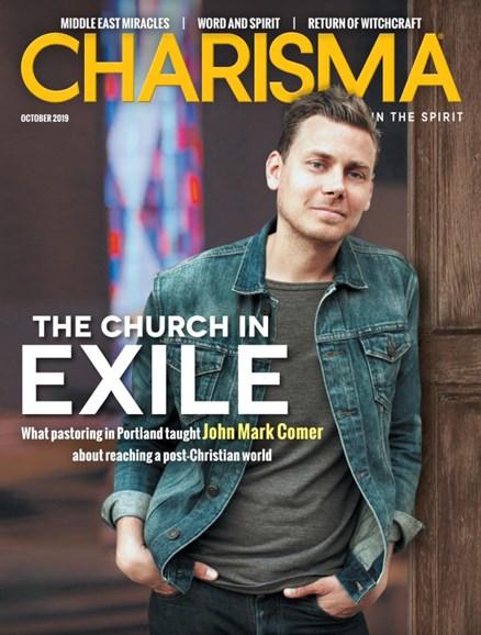 Charisma Cover - 10/1/2019