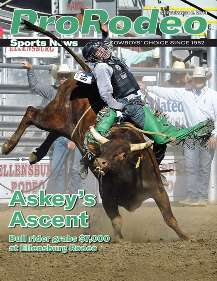 Pro Rodeo Sports News Cover - 9/6/2019