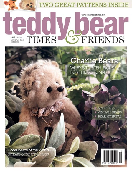 Teddy Bear Times & Friends Cover - 10/1/2019