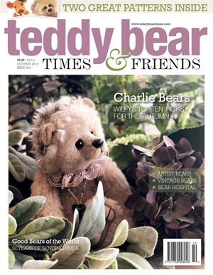 Teddy Bear Times and Friends Magazine | 10/2019 Cover