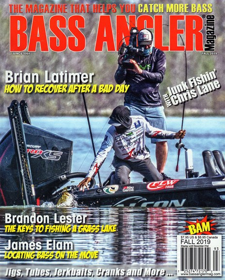 Bass Angler Cover - 9/1/2019