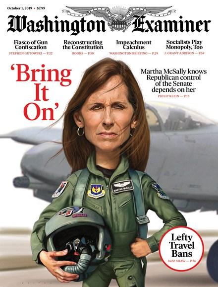 Washington Examiner Cover - 10/1/2019