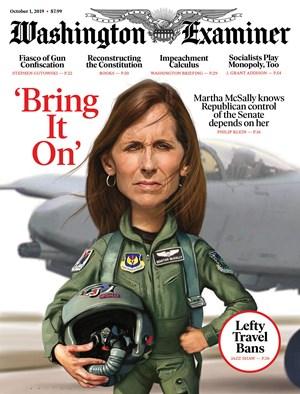 Washington Examiner | 10/1/2019 Cover