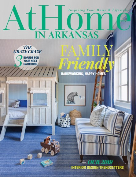 At Home In Arkansas Cover - 8/1/2019
