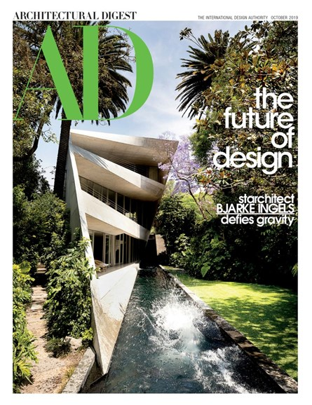 Architectural Digest Cover - 10/1/2019