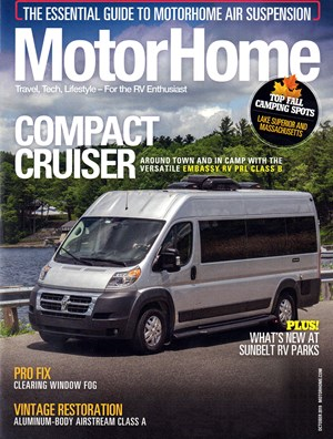 MotorHome Magazine | 10/2019 Cover