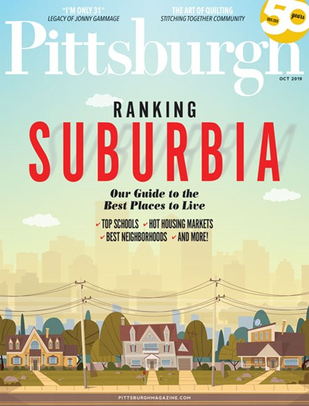 Pittsburgh Magazine Cover - 10/1/2019
