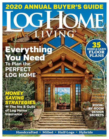 Log and Timber Home Living Cover - 10/1/2019