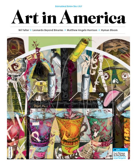 Art In America Cover - 10/1/2019