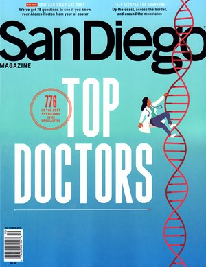 San Diego Magazine | 10/2019 Cover